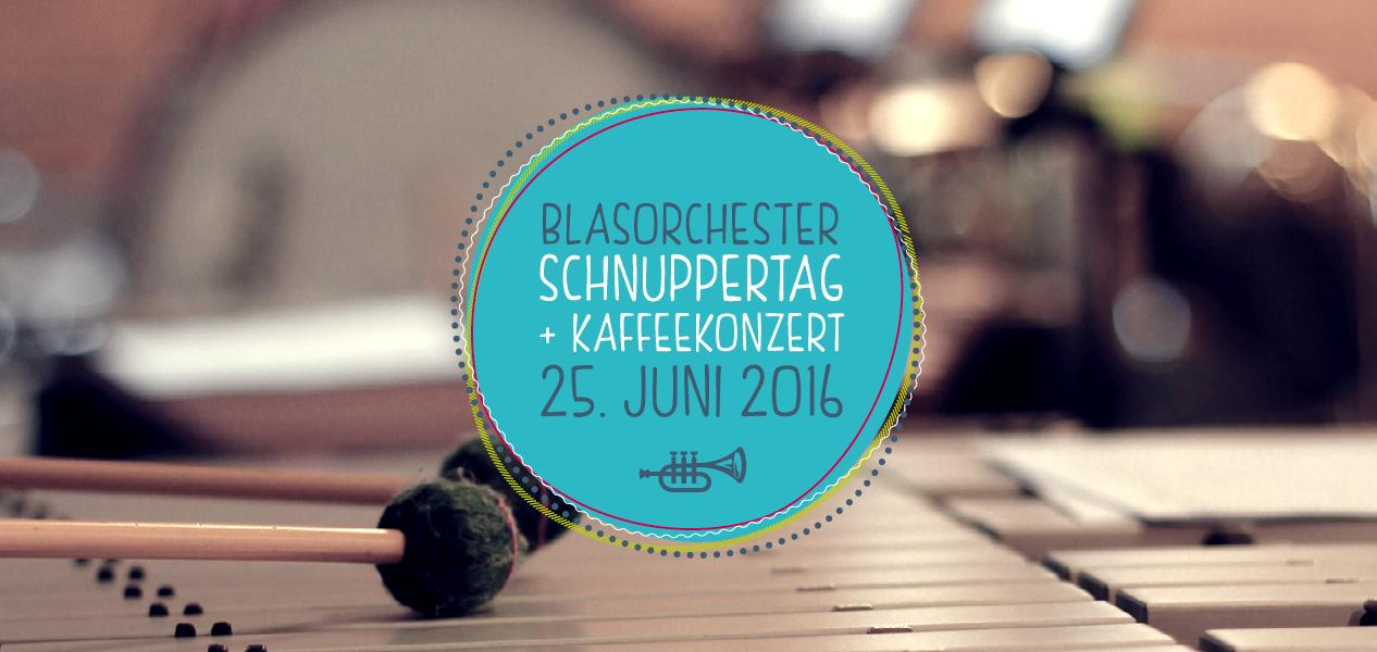 Schnuppertag und Kaffeekonzert des Jugendblasorchesters Biberbach