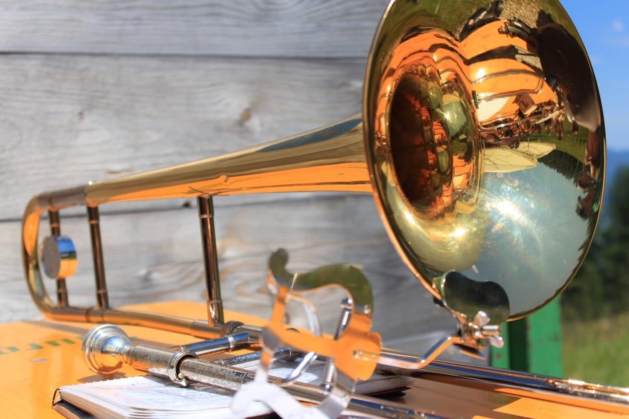 Festumzug Thierhaupten mit dem Blasorchester Biberbach